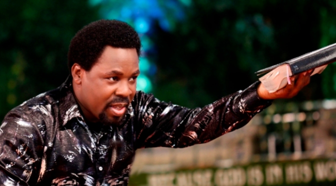 WHAT TB JOSHUA SAID REGARDING AN AFRICAN HEAD OF STATE On Sunday 5th February, 2012