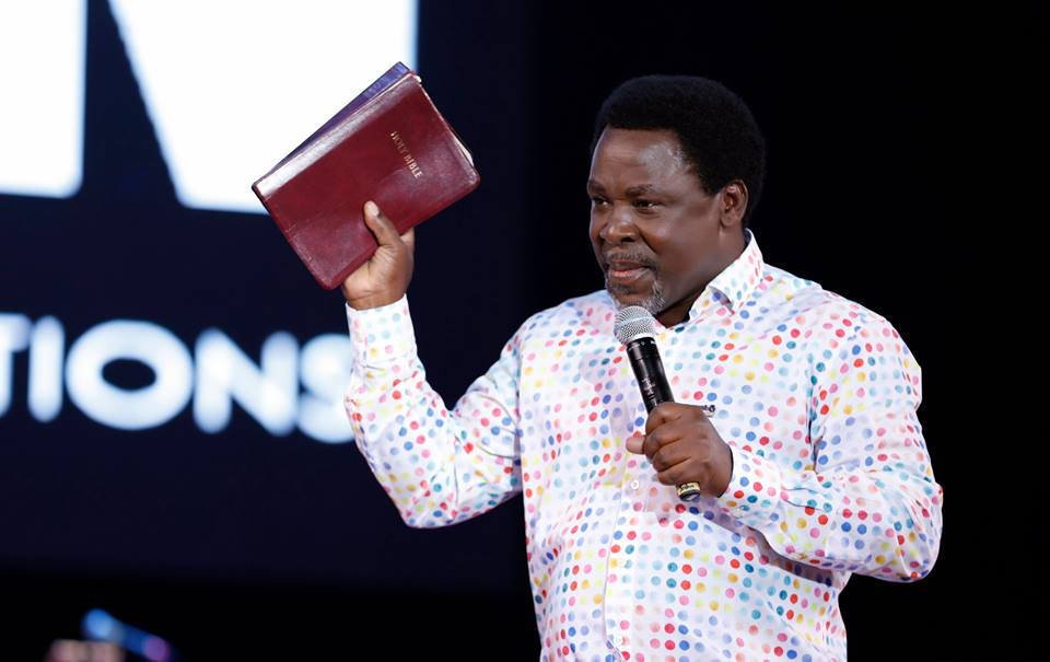 The Spirit of the Lord is Mighty Upon Prophet TB Joshua of SCOAN